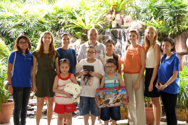 Le Marché de Noël, Zi Yuan and his family, and Make-A-Wish Malaysia at the KL Bird Park